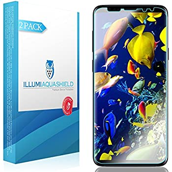 70%OFF Galaxy S9 Plus Full Adhesive Tempered Glass Film, 3D Touch Compatible Full Coverage Anti-Scratch 9H Hardness Ultra HD Clear Screen Protector for Samsung Galaxy S9 Plus