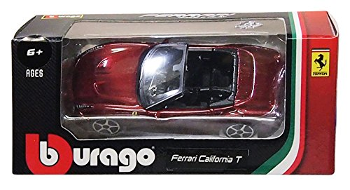 1/64 カリフォルニア T オープントップ(ブラウン) 「FERRARI RACE&PLAY」 28-56011Mの商品画像