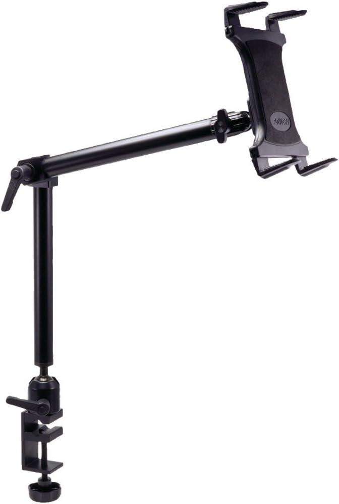 Arkon Heavy Duty Desk or Wheelchair Tablet Clamp Mount for iPad Air iPad Pro iPad 4 3 2 Retail Black
