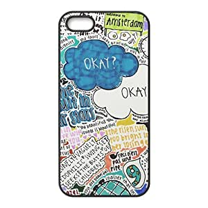 HDSAO Caricature Cell Phone Case for Iphone 5s