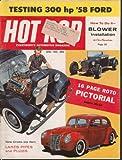 blower test - HOT ROD Ford 300hp test, Deuce, Bantam, blower kit tech etc. 4 1958