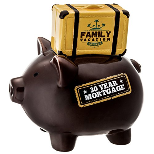 Vacation Piggy Bank (Prinz 6620-6002 30 Year Mortgage - Family Vacation Piggy Bank)