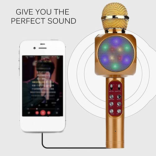 Professional Wireless Microphone High Sensitivity Home KTV Music Playing Oneline Chat Karaoke Microphone for iOS
