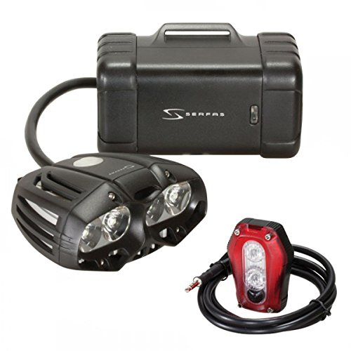 Serfas True Police Headlight/Taillight, Red Blink/Blue Blink Review