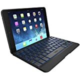 ZAGG Cover with Blacklit, Hinged Keyboard for iPad mini / iPad mini Retina - Black