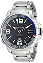 Tommy Hilfiger Men's 1791012 Analog Display Quartz Silver Watch