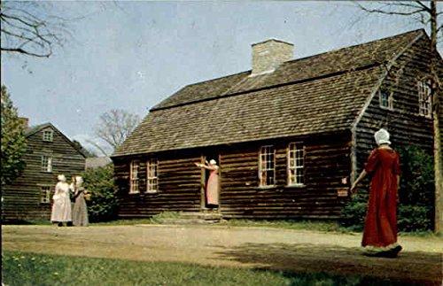 Stephen Fitch House Old Sturbridge Village, Massachusetts Original Vintage Postcard