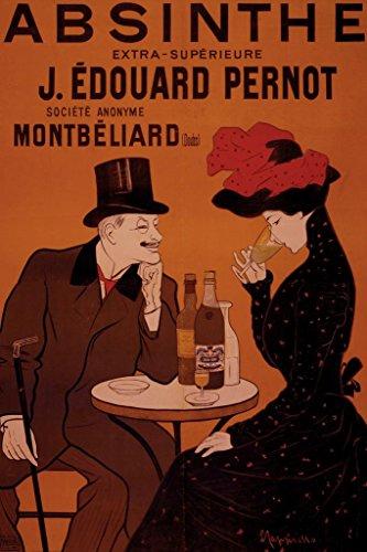 Leonetto Cappiello Absinthe J Edouard Pernot Vintage Advertising Print Poster 24x36 inch