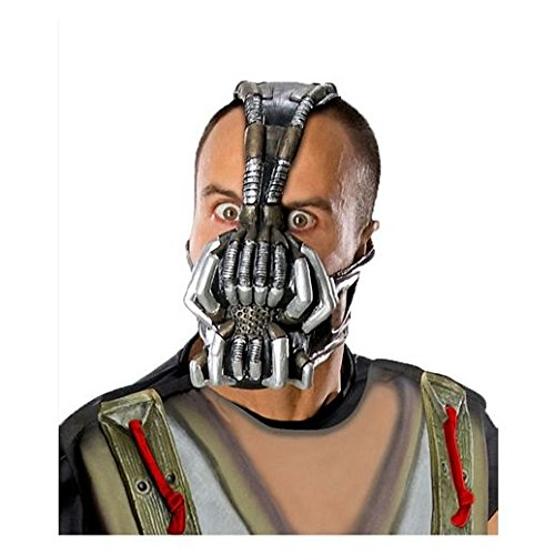 Bane Face Mask Costume (Costume Beautiful Bane Mask)