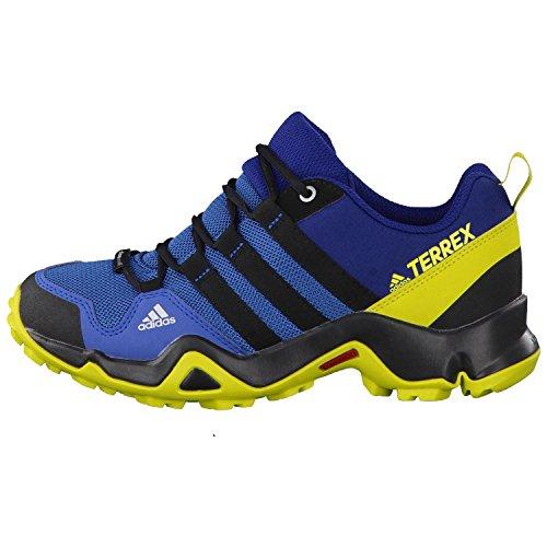 adidas Terrex Ax2r Cp K, Zapatos de Senderismo Unisex Niños Azul (Azubas/negbas/limuni)