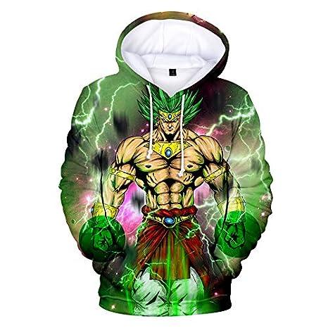 Sweatshirts 3D Impreso Sudaderas con Capucha Casual Unisex ...