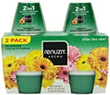 Renuzit Adjustables Air Freshener, After The Rain, 2 Count, 7.5 Ounce
