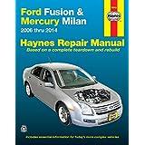 Ford Fusion & Mercury Milan: 2006 thru 2014