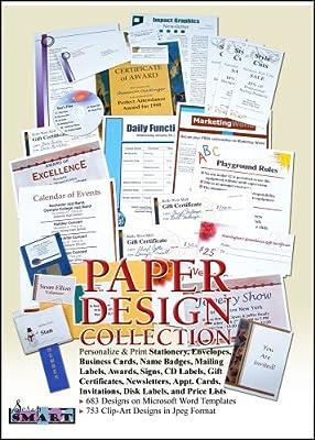 ScrapSMART - Paper Designs - Software Collection - Jpeg & Microsoft Word files [Download]