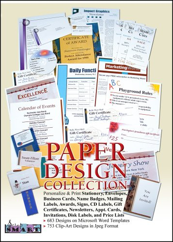 ScrapSMART - Paper Designs - Software Collection - Jpeg & Microsoft Word files for Mac [Download]