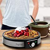 MegaChef Round Stainless Steel Crepe and Pancake
