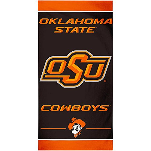 WinCraft Oklahoma State Cowboys Beach Towel - Black