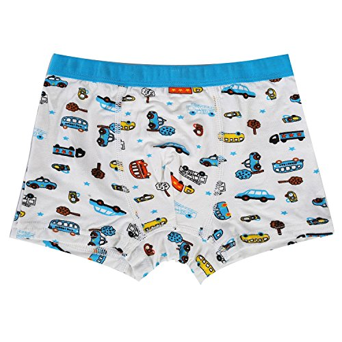 Bala Bala Boy's Boxer Brief Multicolor Underwear (Pack Of 5) (XL/Car Underwear, (Pack Of 5)/Car Underwear) by Bala Bala (Image #7)'