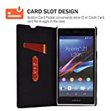 Sony Z1 Case,Mulbess PU Leather Wallet Case with
