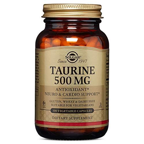 Solgar - Taurine 500 mg Vegetable Capsules  100 Count