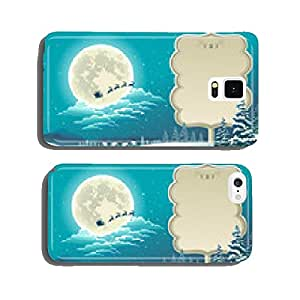 Gifts of winter cell phone cover case Samsung S5