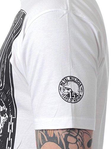 Metal Mulisha Herren T-Shirt - CAPTURED - weiß