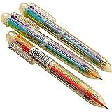Frimateland 6個 極細 0.7mm 可愛 クール ノベルティ 6色 多色 パーソナライズされた プロモーション ボールペン オフィス スクール 用品 学生 子供 ギフト