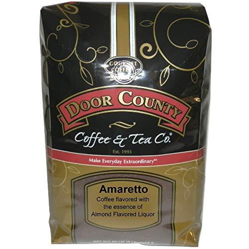 Door County Coffee, Amaretto, Ground, 5lb - Flavored Amaretto Black Tea