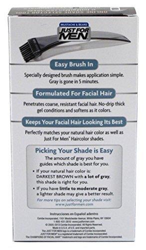 Just Men Brush Color Mustache