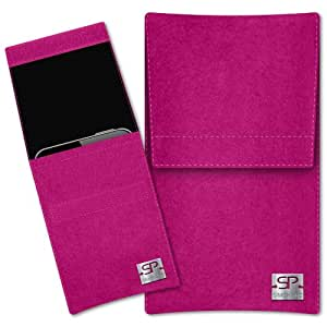 SIMON PIKE Cáscara Funda de móvil Sidney 1 fucsia Samsung GALAXY GRAND 2 Fieltro de lana