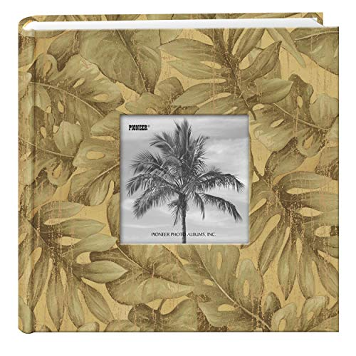 Travel Designer Photo Album, Tropical Leaves