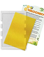 Hroonny Candle Mold Beeswax Sheet Mold - Non-Stick Flexible DIY Candle Making Kit- Ideal Gift Home Decoration