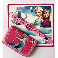 Frozen, Harika Kanatlar, Minnie, Cars ve Toy Story Saat-Cüzdan (Frozen Elsa&Anna)