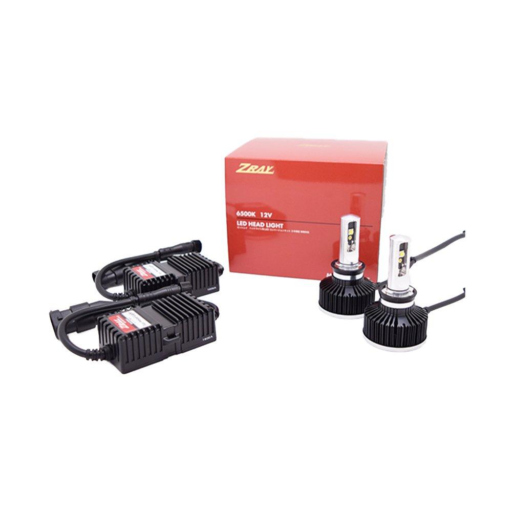 ZRAY ヘッドライト専用LEDバルブキット H9/H11タイプ 6500K RH2 B01H3EE812
