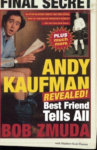 Read Online Andy Kaufman Revealed!: Best Friend Tells All pdf