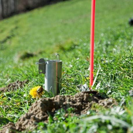 4Pcs Ciseaux Taupe Eliminator Gopher suppression Piège Réutilisable libre de creuser