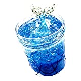 Trigle 120ML Ocean Fish Tail Puff Slime Putty Scented Stress Kids Clay Crystal Mud Toy (Blue)