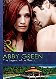 Front cover for the book The Legend of de Marco by Abby Green