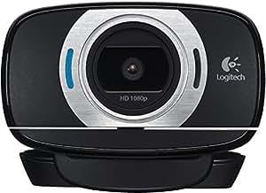 Logitech C615 - Webcam HD, negro