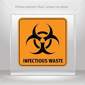 Amazon Decals Stickers Biohazard Infectious Waste Tablet Laptop