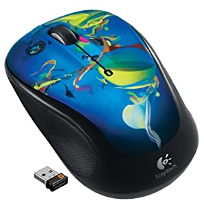 Logitech M325 Wireless Mouse with Designed-For-Web Scrolling - Into the Deep from Logitech