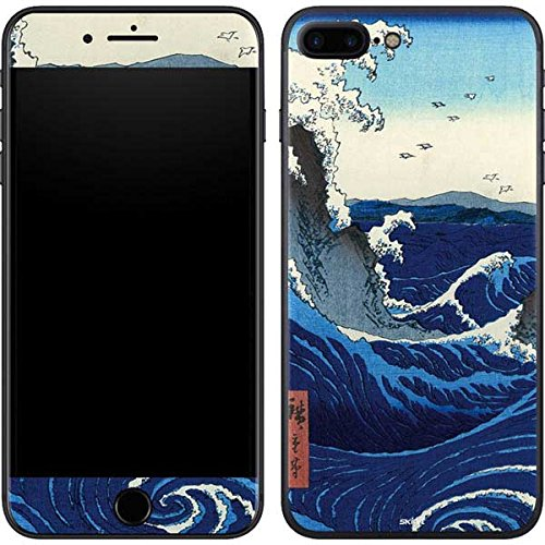Hiroshige iPhone 7 Plus Skin - View of the Naruto whirlpools at Awa Vinyl Decal Skin For Your iPhone 7 Plus
