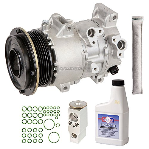 New AC Compressor & Clutch With Complete A/C Repair Kit For Toyota Camry - BuyAutoParts 60-81161RK (Toyota Camry A/c Compressor)