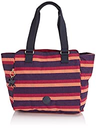 Kipling Women\'s Juliene Bp A4 Shopper Bag - Stripe Pr Bp