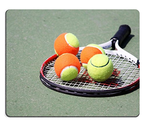 MSD Natural Rubber Mousepad IMAGE ID: 4579940 collection of tennis balls