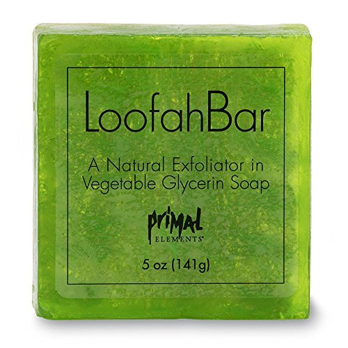- Primal Elements Juicy Kiwi 5.0 Oz. Loofah Glycerin Bar Soap