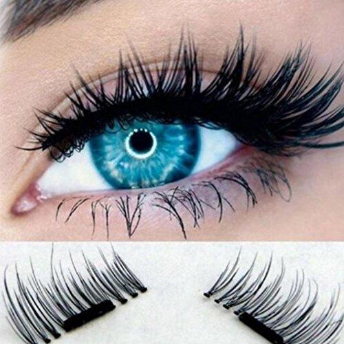 DEESEE(TM)Big sale! 5 Pair/Lot Crisscross False Eyelashes Lashes Voluminous HOT eye lashes