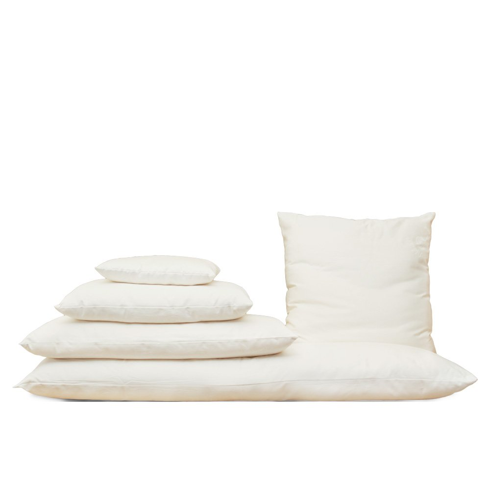 Certified Organic Cotton Euro Square Pillow; Size 26 x 26 Inches