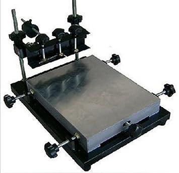 GOWE Manual stencil impresora, SMT Stencil Impresión: Amazon.es ...