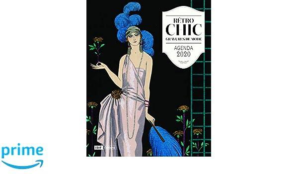 Agenda 2020 Retro Chic - Gravures de Mode: Amazon.es: Lucie ...